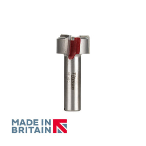 "1/2"" Shank Face Milling Cutter - British Made by Titman Tools - 381HTC"