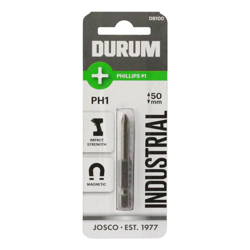 DURUM - Phillips Screwdriver Bit PH1 x 50mm 1 bit - DB100