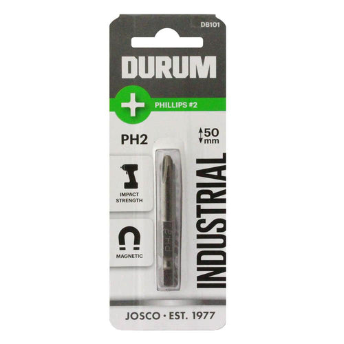 DURUM - Screwdriver Bit -Phillips Power 50mm bit - DB101