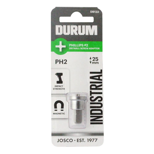 DURUM – Phillips PH2 Drywall Adaptor 25mm - DB123
