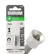 Load image into Gallery viewer, DURUM – Phillips PH2 Drywall Adaptor 25mm - DB123