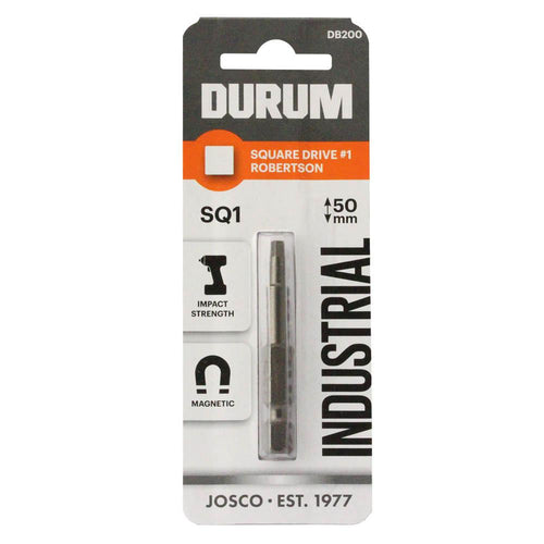 DURUM – Robertson Square Drive SQ1 50mm - DB200