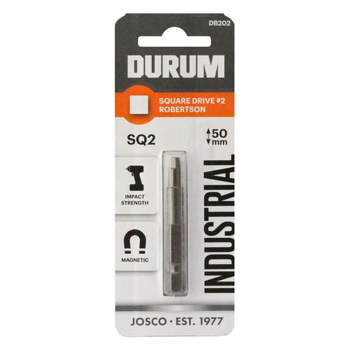 DURUM – Robertson Square Drive SQ2 50mm - DB202