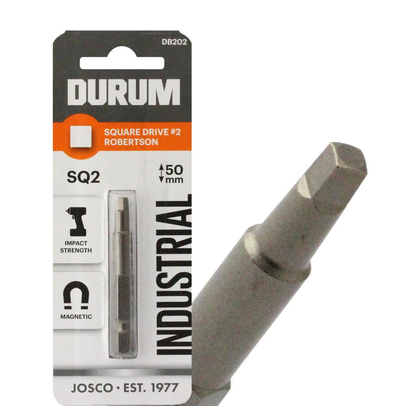 Robertson Square Drive SQ2 50mm - DB202 - 5 PACK