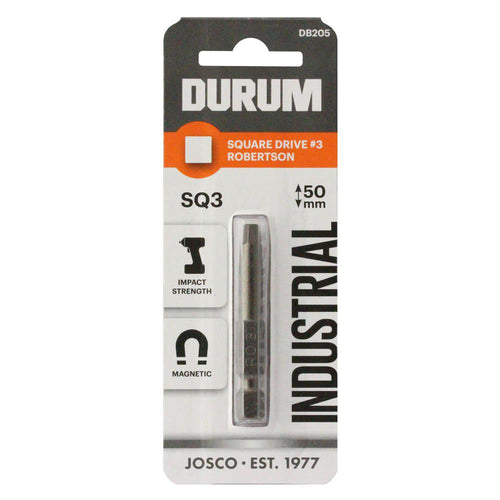 DURUM – Robertsons Square Drive SQ3 50mm - DB205