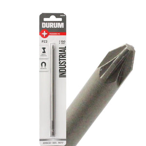 DUMUR – Pack of 5 Pozidriv Screwdriver Bits - PZ2 150mm - DB506B