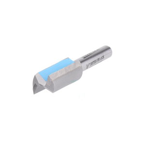 "Double Flute Straight Cutter - 12.55mm Diameter x 25.4mm Depth of Cut - 1/4"" Shank - Titman Edge"