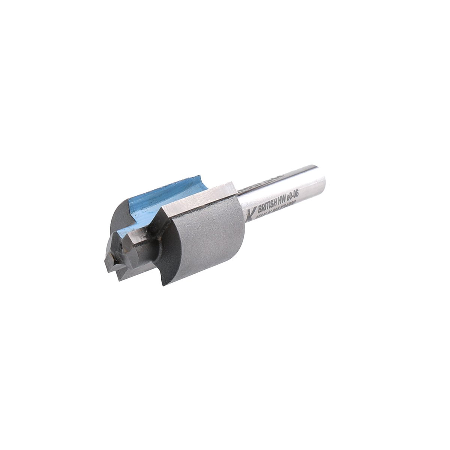 "Stepped Rebate Cutter - 19mm & 13mm Diameter - 1/4"" Shank - Titman Tools"