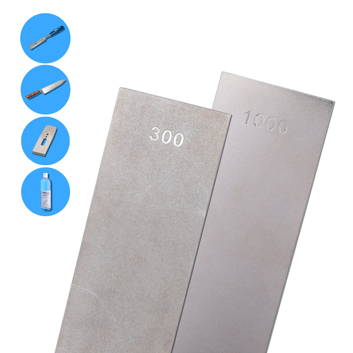 "Diamond Bench Stone - 6"" x 2"" (152 x 50mm) - 1000 and 300 Grit - E6DBS"