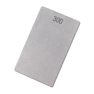 "Diamond Double-Sided Credit Card Stone 3"" x 2"" (85mm x 50mm) 300 and 180 Grit - ECCCM"