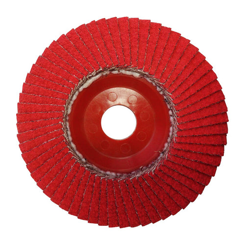 Josco 115mm Ceramic Flap Disc 40 Grit - Pack of 3