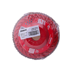 Josco - 115mm 40 Grit Ceramic Flap Disc - 3 Pack - JDC11540