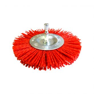 Josco - 100mm Abrasive Nylon Wheel Brush