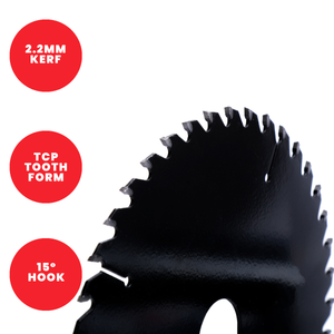 Titman Edge TCT Fine Finish Circular Saw Blade 165mm x 20mm x 48 Tooth - TB1654820