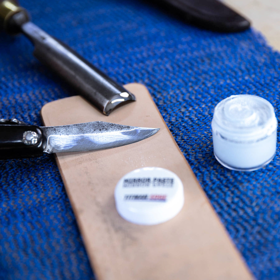 Mirror Finishing Paste for Use with a Leather Strop - EDMIR