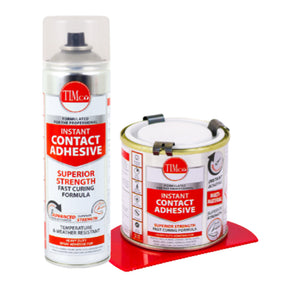 TIMco Instant Contact Adhesive - Spray or Liquid