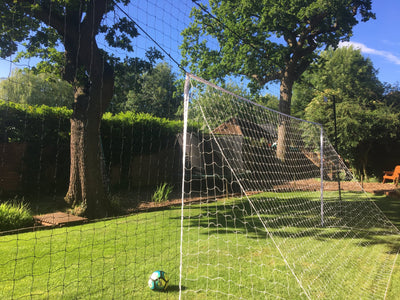 Large - 16'x 7' Goal, in 10' high Backstop/ Rebounder