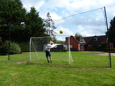 Standard - 9'x 5' Goal, in 10' high Backstop/ Rebounder