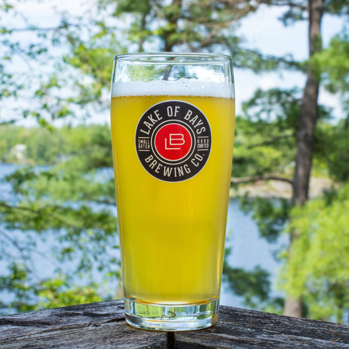 20 oz Lake Of Bays Pint Glass
