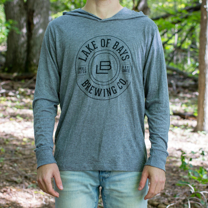 Lake Of Bays Light Hoodie - Heather Grey