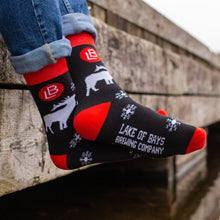 Load image into Gallery viewer, Toasty Toes - Christmas Socks