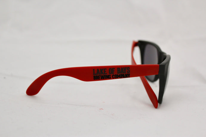 Lake of Bays Red Sunglasses