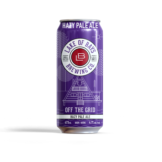 Off the Grid - Hazy Pale Ale