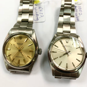 Rolex 6422 and 1002 Watches