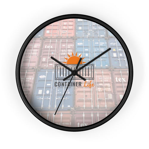 CONTAINER Life Wall clock container wall