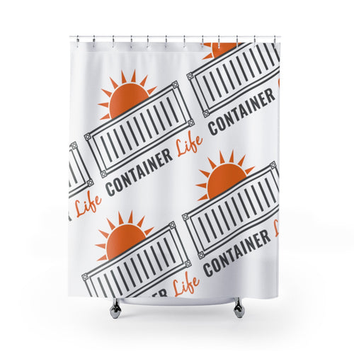 CONTAINER Life Shower Curtains 1