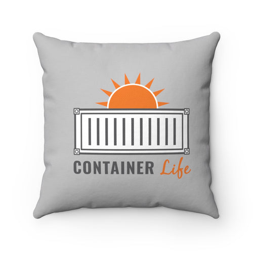 CONTAINER Life Spun Polyester Square Pillow 1