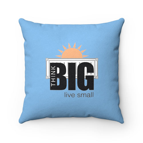 CONTAINER Life Faux Suede Square Pillow 3