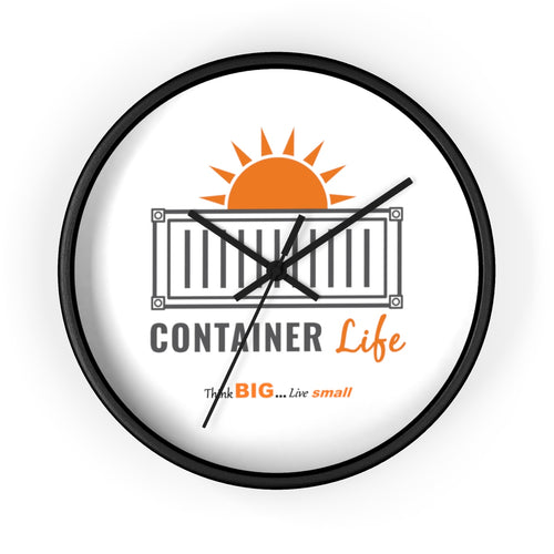 CONTAINER Life Wall clock