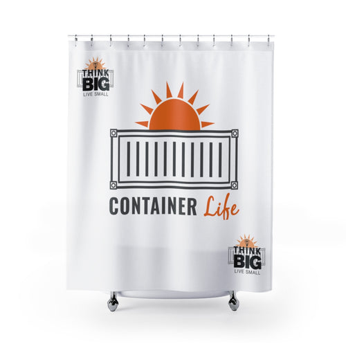 CONTAINER Life Shower Curtains 2