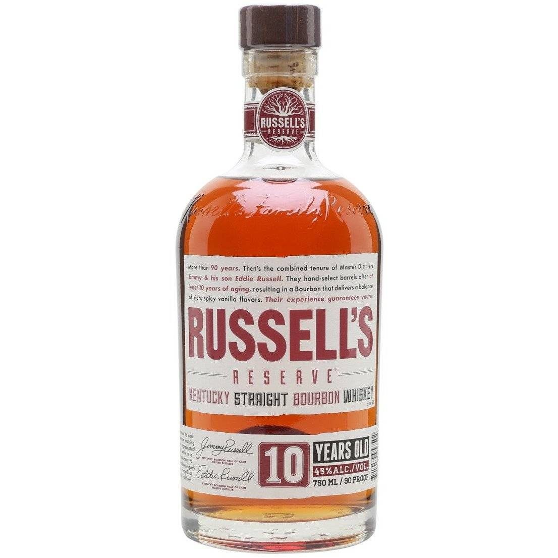 Russell's Reserve 10 Year Old Bourbon 700mL - Uptown Liquor
