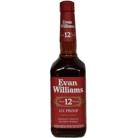 Evan Williams 12 Year Old Bourbon 750mL - Uptown Liquor