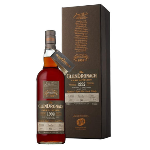 Glendronach Single Cask 26 Years 1992 Cask No. 5896 700mL