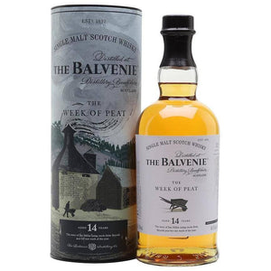 Balvenie 14 Years The Week of Peat Scotch Whisky 700mL - Uptown Liquor