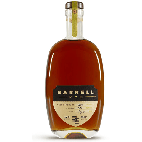 Barrell Rye Batch 003 Whiskey 750mL