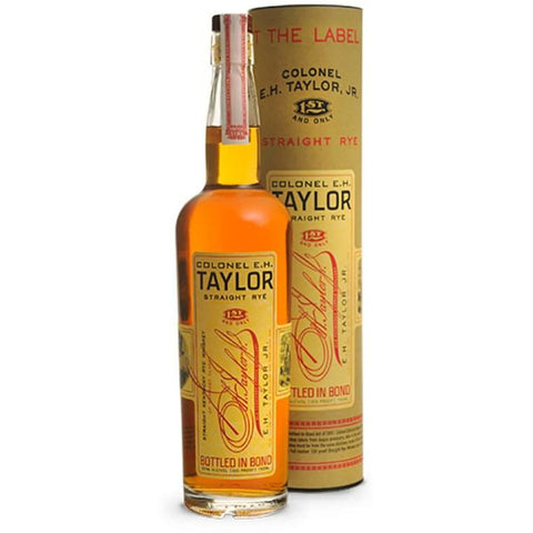 Colonel E.H. Taylor Straight Rye Whiskey 700mL - Uptown Liquor