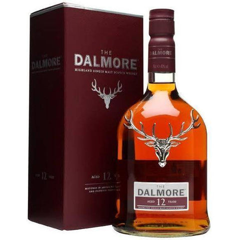Dalmore 12 Year Old Scotch Whisky 700mL - Uptown Liquor