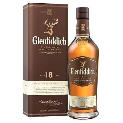 Glenfiddich 18 Year Old Single Malt Scotch Whisky 700mL - Uptown Liquor