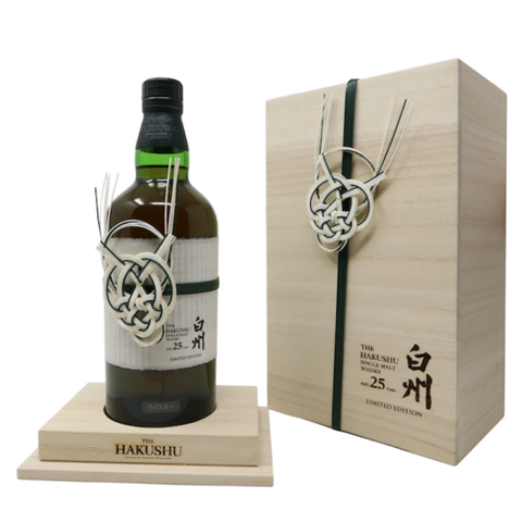Suntory Hakushu 25 Years Limited Edition Japanese Whisky 700mL - Uptown Liquor