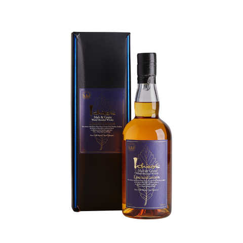 Ichiro's Malt & Grain World Blended Whisky 2018 Limited Edition 700mL - Uptown Liquor