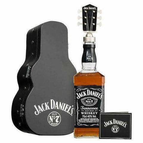 Jack Daniels Old No. 7 Guitar Case 700mL - Uptown Liquor