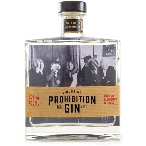Prohibition Gin 700mL - Uptown Liquor