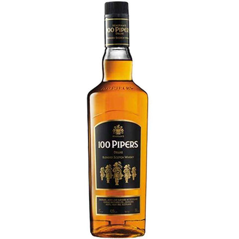 100 Pipers Blended Scotch Whisky 700mL - Uptown Liquor