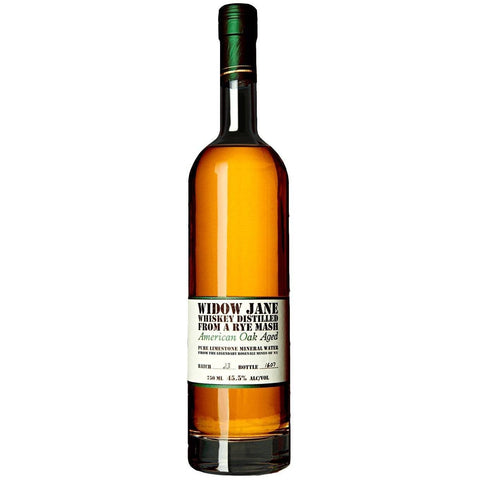 Widow Jane American Oak Rye Whiskey 750mL - Uptown Liquor