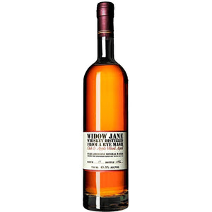 Widow Jane Rye Whiskey Applewood & Oak 750mL - Uptown Liquor