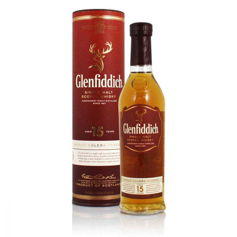 Glenfiddich 15 Year Old Scotch Whisky 700mL - Uptown Liquor